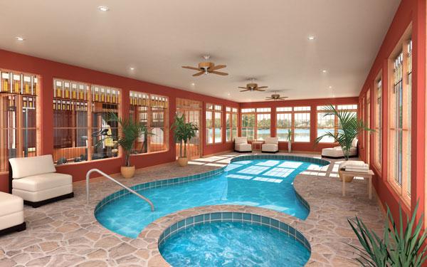 Indoor swimming pool costing 5 hidden water pools cost for Indoor swimming pool cost